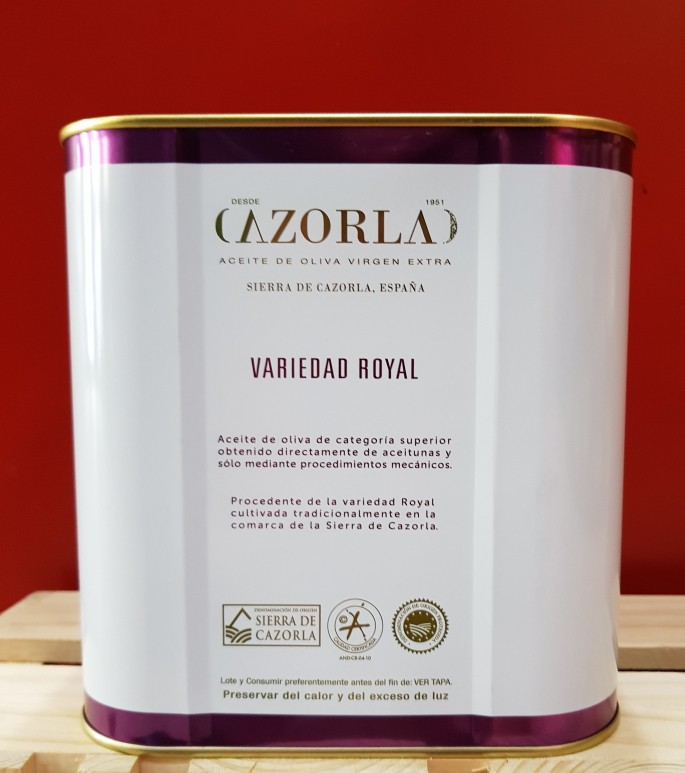 Royal 2,5L Lata - Cazorla