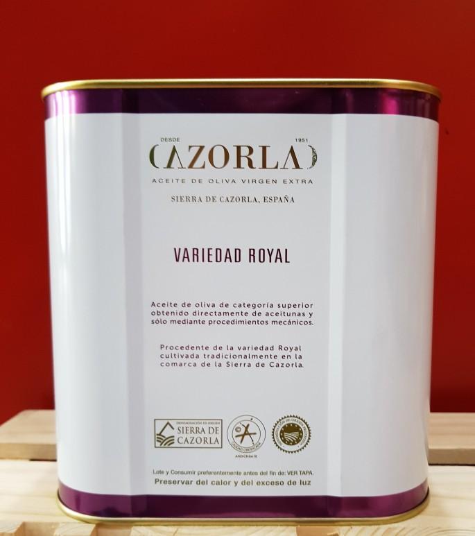 Royal 2,5L Lata - Cazorla